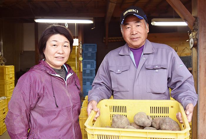 北本修一さん、文江さん夫妻